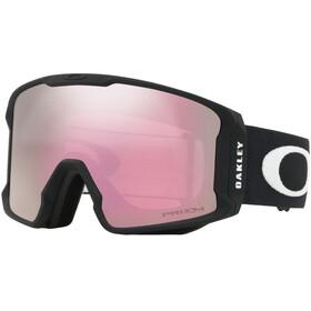 Oakley Line Miner XL Sneeuw Goggles Heren, matte black/w prizm hi pink iridium